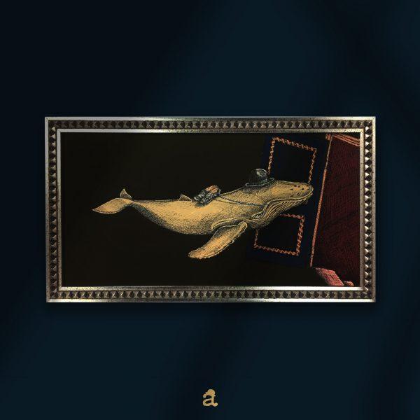 acquista un quadro con balena