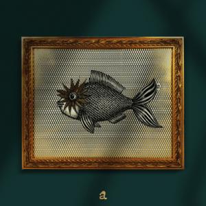acquista un quadro con pesce